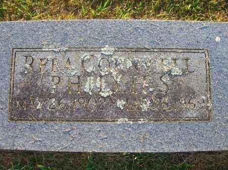 CORNWELL PHILLIPS, REBA - Yell County, Arkansas | REBA CORNWELL PHILLIPS - Arkansas Gravestone Photos