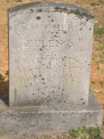 PITTS, ELLEN S. - Yell County, Arkansas | ELLEN S. PITTS - Arkansas Gravestone Photos
