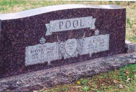 POOL, MAYME PAGE - Yell County, Arkansas | MAYME PAGE POOL - Arkansas Gravestone Photos