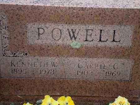 POWELL, CARRIE C. - Yell County, Arkansas | CARRIE C. POWELL - Arkansas Gravestone Photos