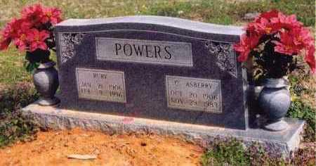 POWERS, RUBY - Yell County, Arkansas | RUBY POWERS - Arkansas Gravestone Photos