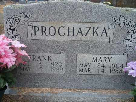 PROCHAZKA, FRANK - Yell County, Arkansas | FRANK PROCHAZKA - Arkansas Gravestone Photos