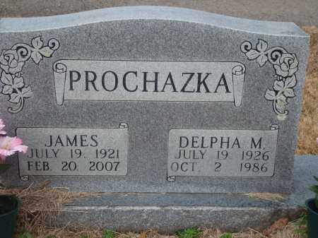 PROCHAZKA, DELPHA M. - Yell County, Arkansas | DELPHA M. PROCHAZKA - Arkansas Gravestone Photos