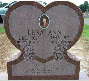 QUALLS, LENA ANN - Yell County, Arkansas | LENA ANN QUALLS - Arkansas Gravestone Photos