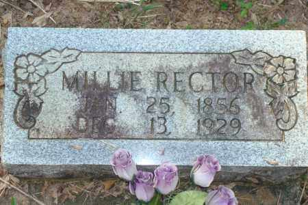 RECTOR, MILLIE - Yell County, Arkansas | MILLIE RECTOR - Arkansas Gravestone Photos