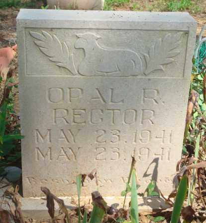RECTOR, OPAL R. - Yell County, Arkansas | OPAL R. RECTOR - Arkansas Gravestone Photos