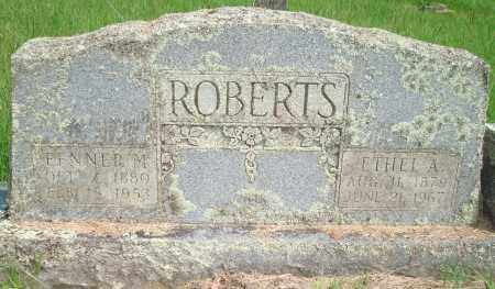 ROBERTS, FENNER M - Yell County, Arkansas | FENNER M ROBERTS - Arkansas Gravestone Photos