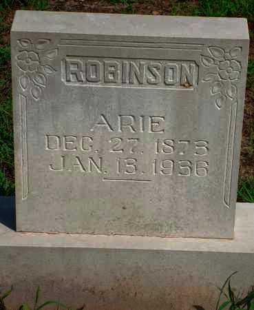 ROBINSON, ARIE - Yell County, Arkansas | ARIE ROBINSON - Arkansas Gravestone Photos