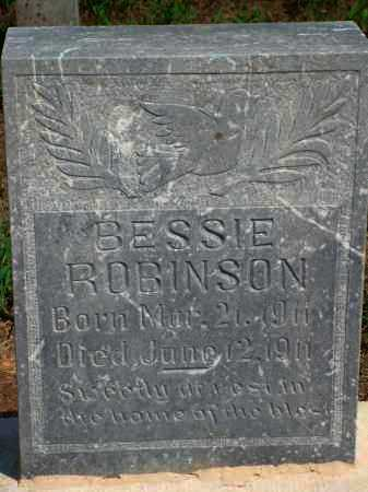 ROBINSON, BESSIE - Yell County, Arkansas | BESSIE ROBINSON - Arkansas Gravestone Photos