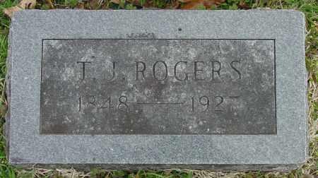 ROGERS, THOMAS JEFFERSON - Yell County, Arkansas | THOMAS JEFFERSON ROGERS - Arkansas Gravestone Photos