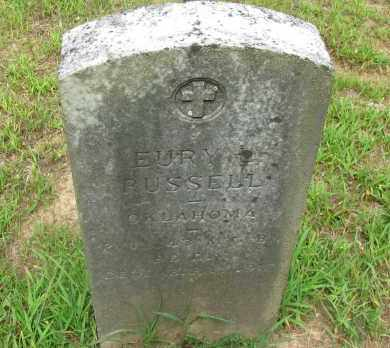RUSSELL (VETERAN), EURY - Yell County, Arkansas | EURY RUSSELL (VETERAN) - Arkansas Gravestone Photos