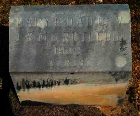 RUTLEDGE, MARY E - Yell County, Arkansas   MARY E RUTLEDGE - Arkansas Gravestone Photos