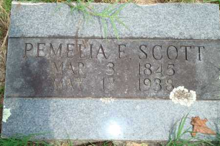 SCOTT, PEMELIA E. - Yell County, Arkansas | PEMELIA E. SCOTT - Arkansas Gravestone Photos