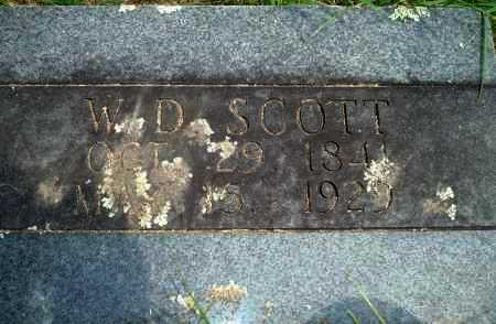 SCOTT, WD - Yell County, Arkansas | WD SCOTT - Arkansas Gravestone Photos