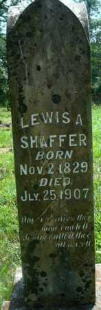 SHAFFER, LEWIS A - Yell County, Arkansas | LEWIS A SHAFFER - Arkansas Gravestone Photos