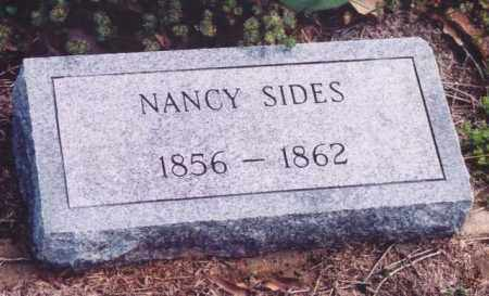SIDES, NANCY - Yell County, Arkansas | NANCY SIDES - Arkansas Gravestone Photos