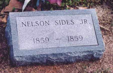 SIDES, NELSON, JR. - Yell County, Arkansas | NELSON, JR. SIDES - Arkansas Gravestone Photos