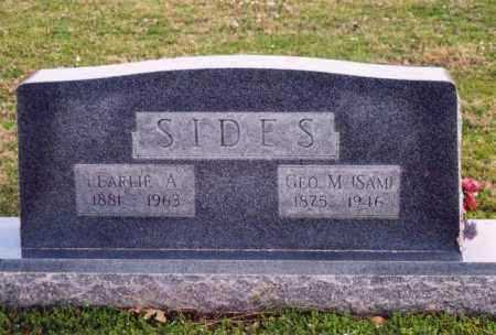 SIDES, PEARLIE A - Yell County, Arkansas | PEARLIE A SIDES - Arkansas Gravestone Photos