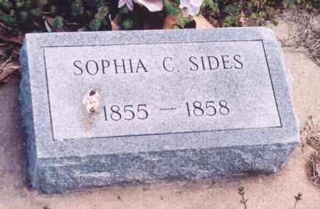 SIDES, SOPHIA C. - Yell County, Arkansas | SOPHIA C. SIDES - Arkansas Gravestone Photos