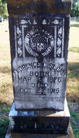 SLOAN, FLORENCE C - Yell County, Arkansas | FLORENCE C SLOAN - Arkansas Gravestone Photos