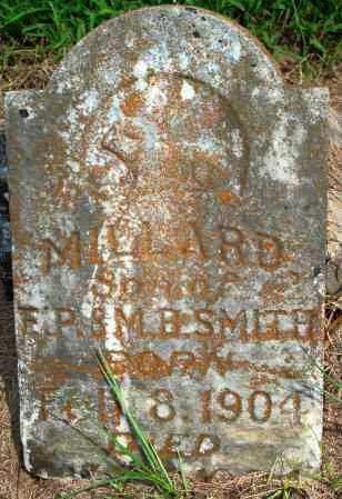 SMITH, MILLARD - Yell County, Arkansas | MILLARD SMITH - Arkansas Gravestone Photos