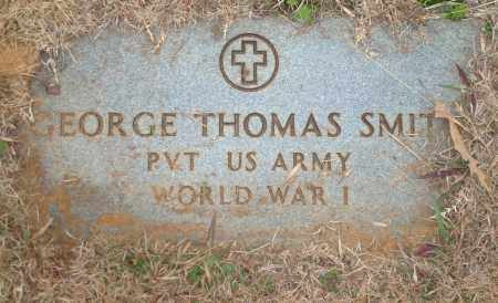 SMITH (VETERAN WWI), GEORGE THOMAS - Yell County, Arkansas | GEORGE THOMAS SMITH (VETERAN WWI) - Arkansas Gravestone Photos