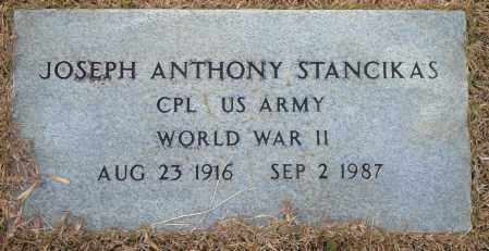 STANCIKAS (VETERAN WWII), JOSEPH ANTHONY - Yell County, Arkansas | JOSEPH ANTHONY STANCIKAS (VETERAN WWII) - Arkansas Gravestone Photos