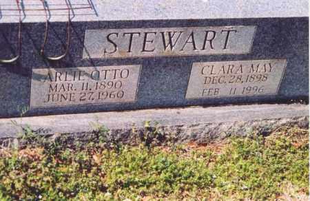 STEWART, ARLIE OTTO - Yell County, Arkansas | ARLIE OTTO STEWART - Arkansas Gravestone Photos