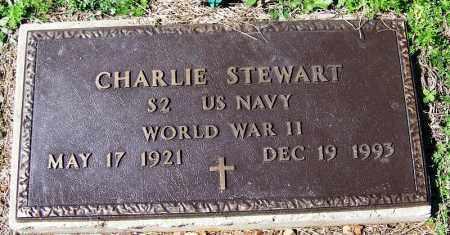STEWART (VETERAN WWII), CHARLIE - Yell County, Arkansas | CHARLIE STEWART (VETERAN WWII) - Arkansas Gravestone Photos