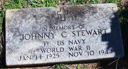 STEWART (VETERAN WWII), JOHNNY C - Yell County, Arkansas | JOHNNY C STEWART (VETERAN WWII) - Arkansas Gravestone Photos