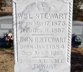 STEWART, WM L. - Yell County, Arkansas | WM L. STEWART - Arkansas Gravestone Photos