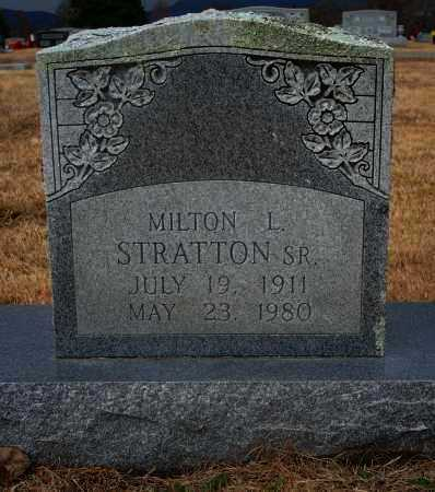 STRATTON, SR, MILTON L. - Yell County, Arkansas | MILTON L. STRATTON, SR - Arkansas Gravestone Photos