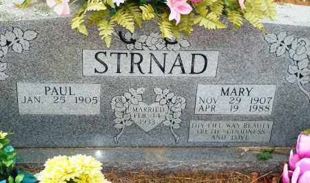 STRNAD, PAUL - Yell County, Arkansas | PAUL STRNAD - Arkansas Gravestone Photos