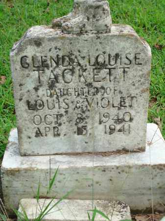 TACKETT, GLENDA LOUISE - Yell County, Arkansas | GLENDA LOUISE TACKETT - Arkansas Gravestone Photos
