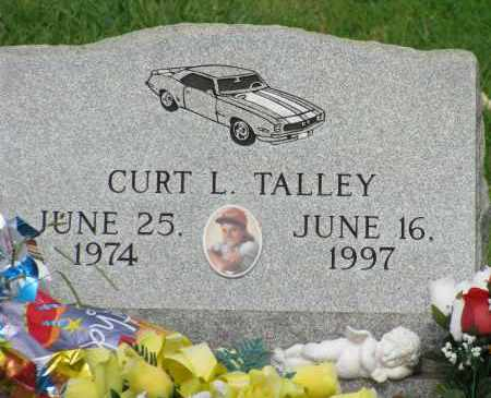 TALLEY, CURT L - Yell County, Arkansas | CURT L TALLEY - Arkansas Gravestone Photos