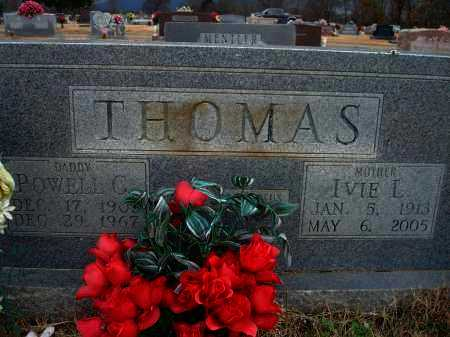 THOMAS, IVIE L. - Yell County, Arkansas | IVIE L. THOMAS - Arkansas Gravestone Photos