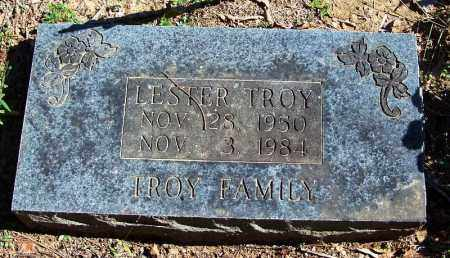 TROY, LESTER - Yell County, Arkansas | LESTER TROY - Arkansas Gravestone Photos