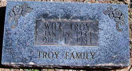 TROY, WILL - Yell County, Arkansas | WILL TROY - Arkansas Gravestone Photos