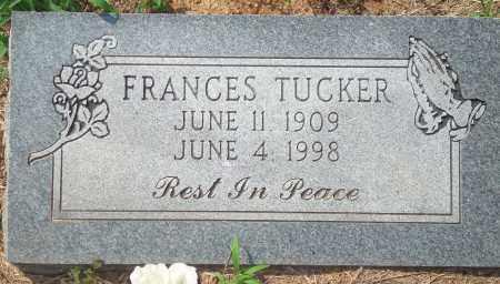 TUCKER, FRANCES - Yell County, Arkansas | FRANCES TUCKER - Arkansas Gravestone Photos