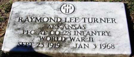 TURNER (VETERAN WWII), RAYMOND LEE - Yell County, Arkansas | RAYMOND LEE TURNER (VETERAN WWII) - Arkansas Gravestone Photos
