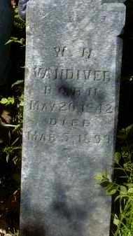 VANDIVER, W H - Yell County, Arkansas | W H VANDIVER - Arkansas Gravestone Photos
