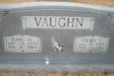VAUGHN, EARL H. - Yell County, Arkansas | EARL H. VAUGHN - Arkansas Gravestone Photos