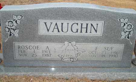 VAUGHN, F. SUE - Yell County, Arkansas | F. SUE VAUGHN - Arkansas Gravestone Photos