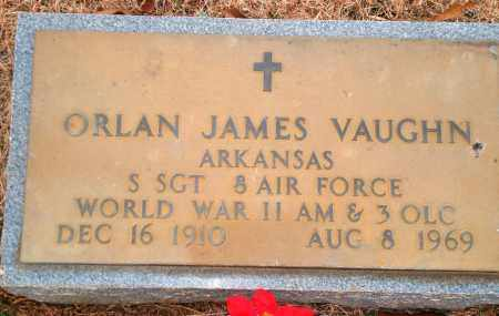 VAUGHN (VETERAN WWII), ORLAN JAMES - Yell County, Arkansas | ORLAN JAMES VAUGHN (VETERAN WWII) - Arkansas Gravestone Photos