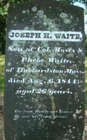 WAITE, JOSEPH H - Yell County, Arkansas | JOSEPH H WAITE - Arkansas Gravestone Photos