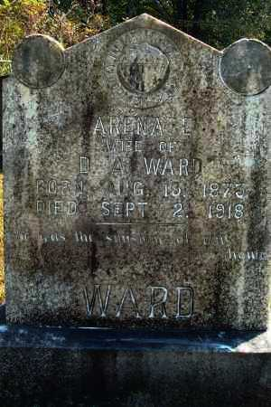 WARD, ARENA E. - Yell County, Arkansas | ARENA E. WARD - Arkansas Gravestone Photos
