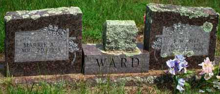 WARD, L.W. BILL - Yell County, Arkansas | L.W. BILL WARD - Arkansas Gravestone Photos