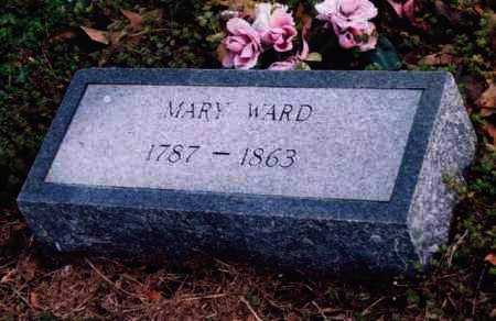WARD, MARY - Yell County, Arkansas | MARY WARD - Arkansas Gravestone Photos