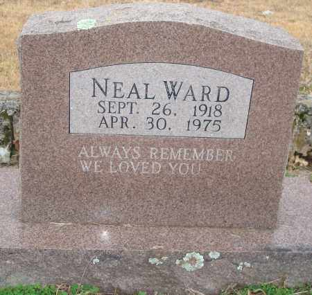WARD, NEAL - Yell County, Arkansas | NEAL WARD - Arkansas Gravestone Photos