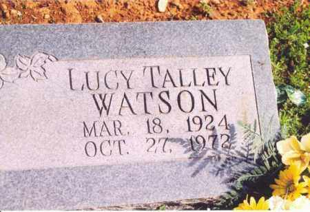 TALLEY WATSON, LUCY TALLEY - Yell County, Arkansas | LUCY TALLEY TALLEY WATSON - Arkansas Gravestone Photos